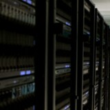 Eksempel på en supercomputer, her hos IBM.
