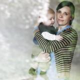 Camilla Melchior Thomsens fødsel blev sat i gang med det endnu ikke godkendte middel Misoprostol. Her er hun med sønnen August. Foto: Kasper Palsnov