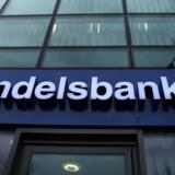På trods af det lave renteniveau formåede svenske Handelsbanken at øge toplinjen i årets fjerde kvartal en kende. Arkivfoto.