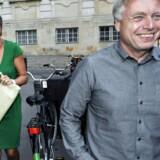 Uffe Elbæk er ikke længere medlem af de Radikale. Her ses han med partiets leder, økonomi- og indenrigsminister Margrethe Vestager til Ramadanmiddag på Christiansborg 17 august 2012.