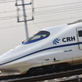 Verdens hurtigste passagertog er kinesisk og tilbagelægger 1100 kilometer på knap tre timer.