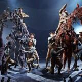 Scene fra »War Horse« på New London Theatre.
