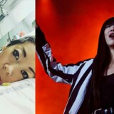 Tv: Linkban i et af de sidste billeder, hun lagde op på Instagram. Th: Linkoban optræder til P3s 50-årsfest i 2013.