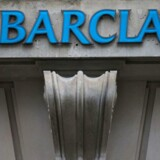 A picture taken on February 11, 2013 shows a branch of Barclays bank in central London.