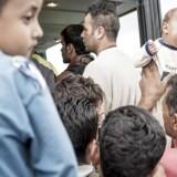 Tyskland forventer, at op til 10.000 flygtninge ankommer i dag.