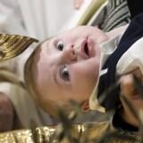 ARKIVFOTO fra en dåb i Vatikanet.