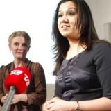 De to kvindelige korrespondenter bor og rapporterer til daglig fra Afghanistan, Pakistan og Beirut, Libanon