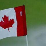 Canadisk flag.