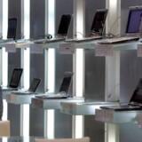 Der er grund til bekymring i computerbranchen. Salget går ned. Foto: Pichi Chuang, Reuters/Scanpix