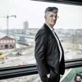 Allan Pollack, ny topchef i PFA, er betydeligt mere lavmælt end sin forgænger på spørgsmålet om vækstambitionerne i PFA. »Jeg kan ikke sætte tal på, hvor store vi gerne vil være. Det afgørende er, at vi fortsat er konkurrencedygtige,« siger han til Berlingske Business. Foto: Thomas Lekfeldt