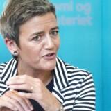 Margrethe Vestager (R) er ikke ene om at håbe, at hun får en tung post, når hun 1. november bliver det danske islæt i den nye EU-Kommission. Hos Dansk Industri, DI, har man store forhåbninger til den nye radikale kommissær.