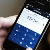 Danske Bank kan forvente flere kunder til deres mobile betalingsløsning Mobilepay.