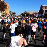New York Marathon sidste år.