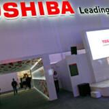 Den japanske elektronikgigant Toshiba vil overtage Fujitsus harddiskproduktion. Foto: Ethan Miller, AFP/Scanpix