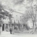 Forsamlingshuset Gimle på Grundtvigsvej 14. Foto fra ca. 1910. Frederiksberg gennem tiderne, 1997