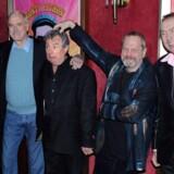 Billedet her fra 2009 viser Python'erne (fra venstre til højre) Michael Palin, John Cleese, Terry Jones, Terry Gilliam og Eric Idle.Optagelserne til filmen begynder i England i foråret