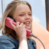 Under halvdelen af danskerne har nu fastnettelefon for første gang nogensinde. Foto: Colourbox