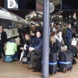 Alle tog holder stille på Sjælland.