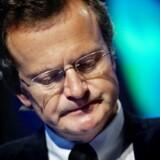 Telenors topchef, Jon Fredrik Baksaas, behøver ikke at se helt så nedtrykt ud efter dagens regnskab. Foto: Scanpix