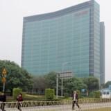 Huaweis hovedkontor i Shenzhen, får nu selskab af ti danske teknologistuderende.