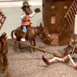 På Museu de la Xocolata i Barcelona, Spanien, er chokolade-figurerne så fantastiske, at man fuldstændig glemmer, at det er chokolade.