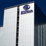 Her ses et Hilton-hotel ved Københavns Lufthavn.