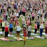 Yoga i Ottawa, Canada.