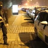 Politimand nær Krudttønden efter attentatet