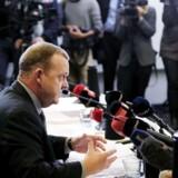 Lars Løkke pressemøde