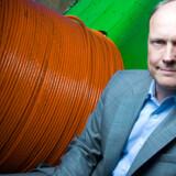 Fredag meddelte TDC, at selskabet køber Fullrate. Her Fullrates administrerende direktør, Stig Myken.