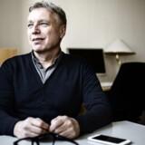 Uffe Elbæk fra det politiske parti Alternativet fotograferet på Christiansborg.