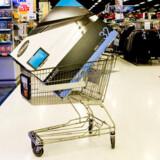 Fladskærmsfjernsyn får nu endnu et mærke på sig i forretningerne, nemlig om de er godkendt af Danmarks kommende TV-leverandør, Boxer, til digital-TV. Foto: Sisse Stroyer, Scanpix