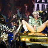 Den kontroversielle popsanger Miley Cyrus spillede koncert i Forum i København onsdag d. 4. juni 2014. (Foto: Kasper Palsnov/Scanpix 2014)