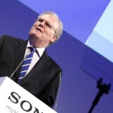 Sony-topchefen Howard Stringer forventer igen underskud i den japanske elektronikgigant.
