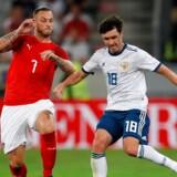 Rusland tabte onsdag for tredje kamp i træk, da det blev 0-1 i udekampen mod Østrig. Leonhard Foeger/reuters/Reuters