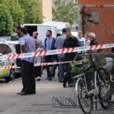 Politi og brandvæsen måtte søndag kort før middag rykke ud til en brand i Islamisk Trossamfunds bygning i Københavns nordvestkvarter.