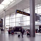 Den nordlige ende af Terminal 3 i Københavns Lufthavn har nu fået et stort åbent areal og et bedre flow fra tog- og metrostationerne.