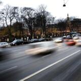 ARKIVFOTO: H.C. Andersens Boulevard i høj fart.