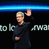 Apple-topchefen Tim Cook ser nu ud til at være parat til at begynde at bruge midlerne i selskabets bugnende pengetank.