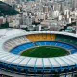 Her er det Real Madrids hjemmebanestadion, Santiago Bernabeu, der har plads til over 80.000 fans.