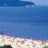 Sopots enorme strand er spektakulær. Og midt på stranden finder man Europas største mole af træ, kendt som Molo.