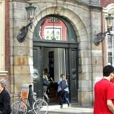 Posthuset i Købmagergade. Her hovedindgangen i Købmagergade.