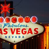 Det berømte velkomst-skilt i Las Vegas - måske kan det i fremtiden opleves i Barcelona eller Madrid.