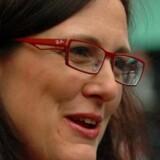 Sveriges kommende kommissær, Cecilia Malmström, er ikke tilfreds med den massive overvågning, som EU-borgerne udsættes for. Foto: Thierry Suzan, EPA/Scanpix