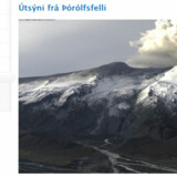 Útsýni frá Þórólfsfelli.