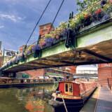 De første kanaler i Birmingham blev skabt i 1773.