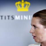 Justitsminister Mette Frederiksen
