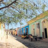I Cuba er der knald på farverne både uden på husene og i indretningen.