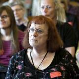 ARKIVFOTO. Regeringen vil tillade juridisk kønsskifte. Her diskuterer transkønnede emnet på Christiansborg 21. maj 2013.
