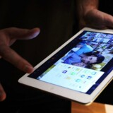 For et år siden kom iPad Air. Nu varmer Apple op til årets modeller. Arkivfoto: Facundo Arrizabalaga, EPA/Scanpix